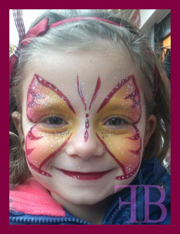 Schmink Vlinder Fredpetnl Kinderfeestjes
