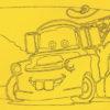 Cars Zandkleurplaat 3