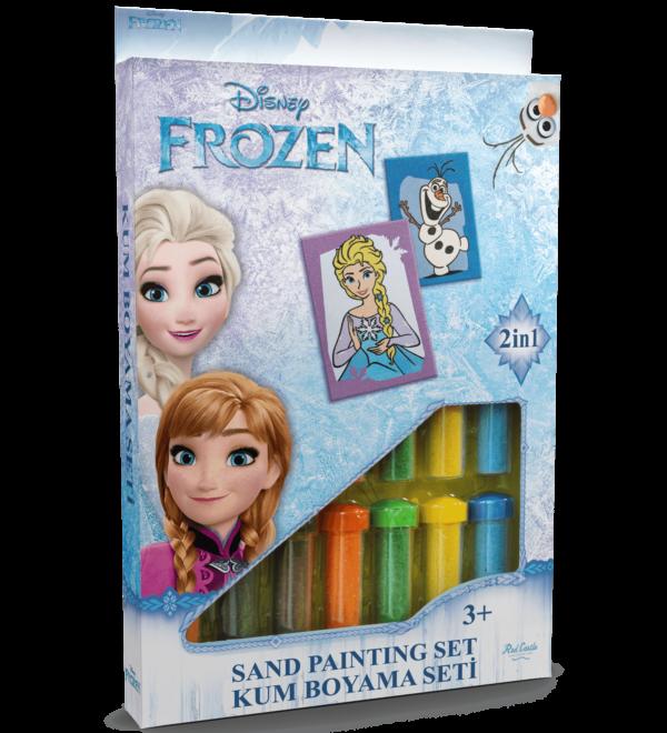 Frozen Zandkleurplaten